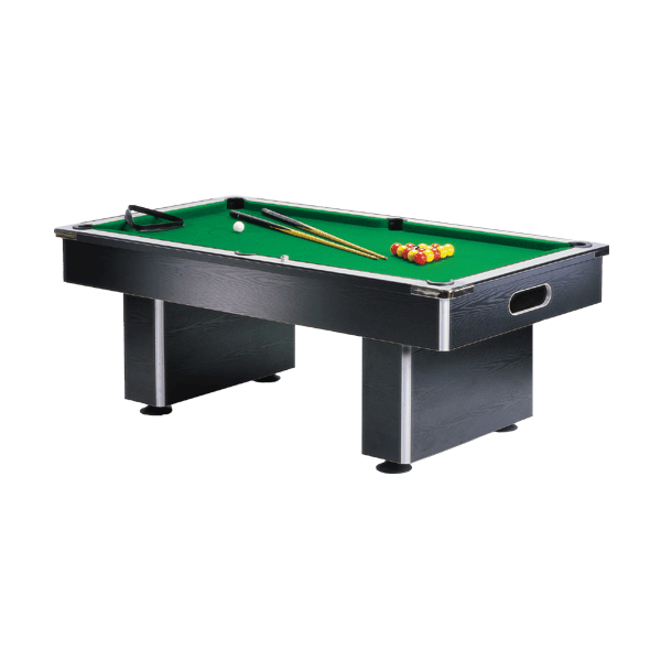 Gatley Slimline Pool Table Black With Free UK Delivery