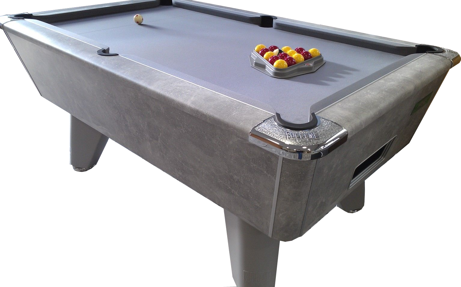 Supreme Winner Pool Table Italian Grey With Free Uk