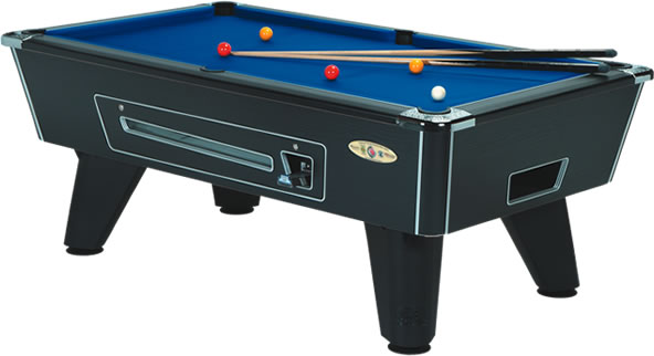 Supreme Winner 6ft Black  Pool Table In Stock and Available Now