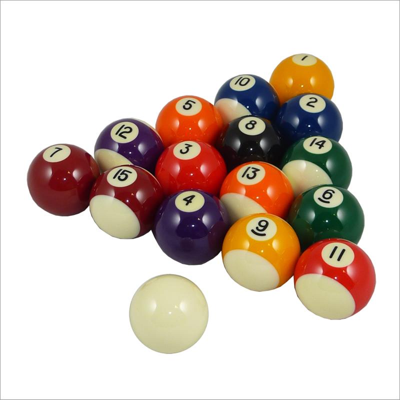 Spots & Stripes Pool Table Balls