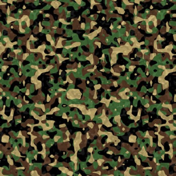 Artscape Camouflage Pool Table Cloth Green