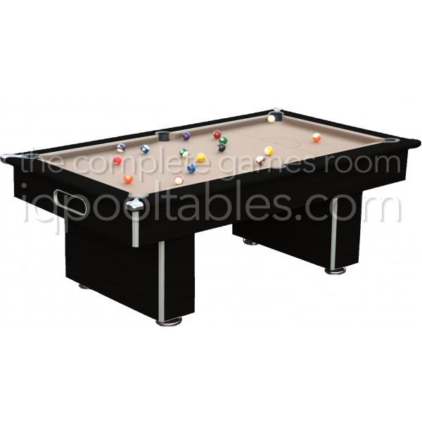 Gatley Classic  Slimline Pool Table Black