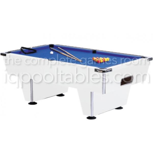 Gatley Club Pool Table White