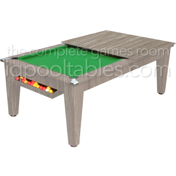 Gatley Classic  Pool Dining Table Driftwood