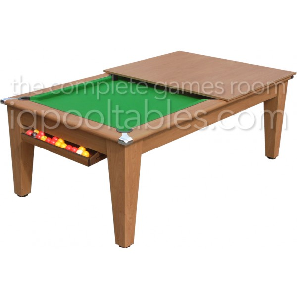 Gatley Classic  Pool Dining Table Oak
