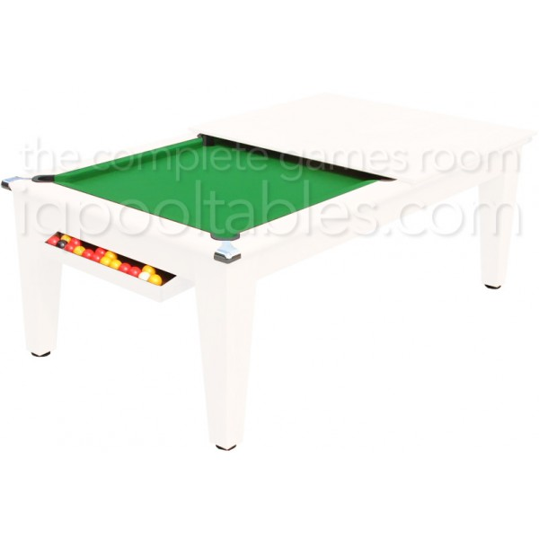 Gatley Classic  Pool Dining Table White