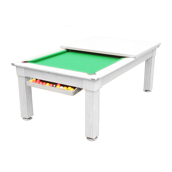 Gatley Traditional  Pool Dining Table White