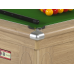 Supreme Prince Pool Table Oak