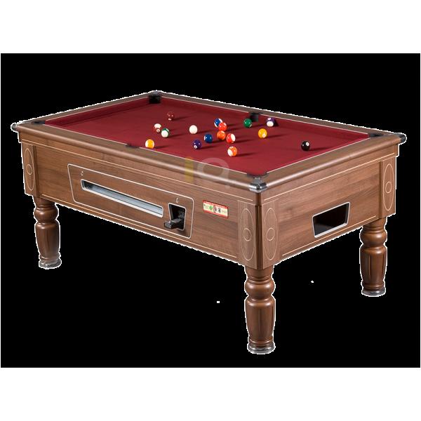 Supreme Prince Pool Table Walnut