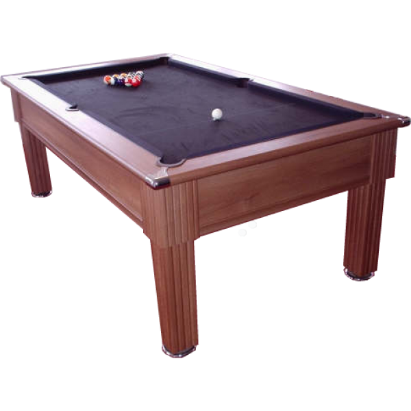 Traditional Pool Table Walnut