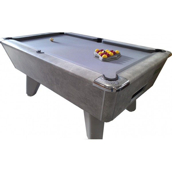 Supreme Winner Pool Table Italian Grey