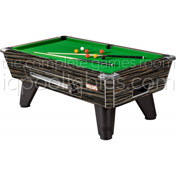 Supreme Winner Pool Table Rustic