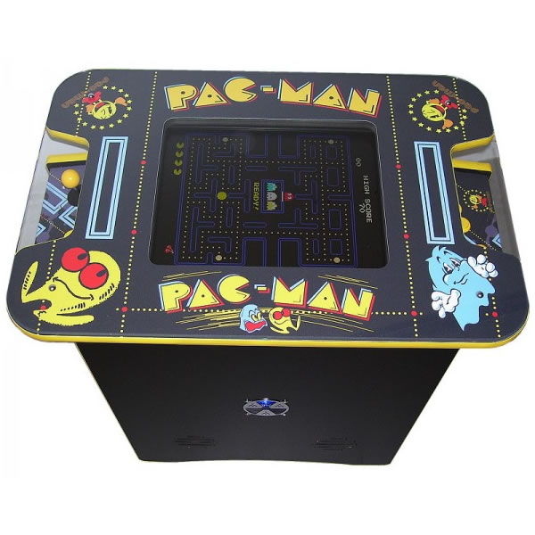 vintage ms pac arcade machine