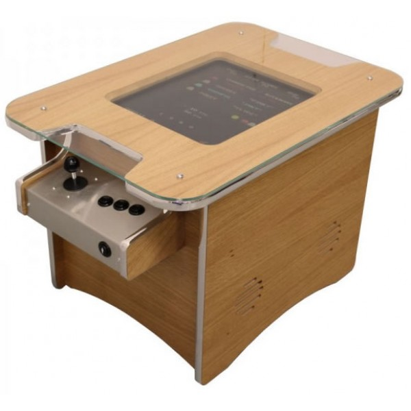 Retro Arcade Machine Coffee Table Oak With Free Uk Delivery Iq