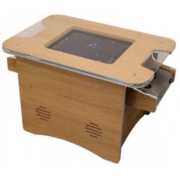 Retro Arcade Machine Coffee Table Oak With Free Uk