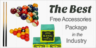 The best free accessories package in the industry