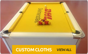 Custom Pool Table Cloths