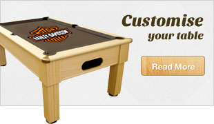 Customise your pool table