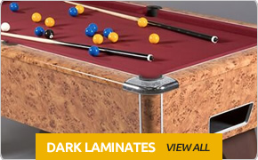 Dark Laminate Pool Tables