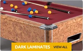 Dark Laminate Pool Tables