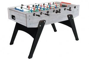 Garlando Football Table - Grey Oak