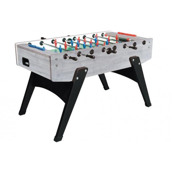 Garlando G-2000 Football Table with Telescopic Rods - Grey Oak