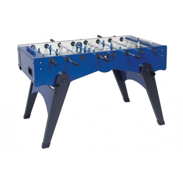 Garlando Foldy Football Table with Telescopic Rods - Blue