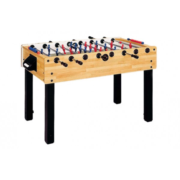 Garlando G-100 Football Table with Telescopic Rods - Beech
