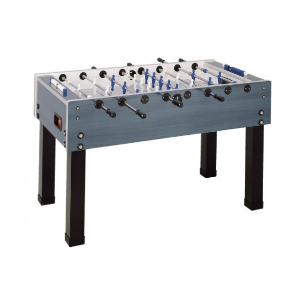 Garlando G-500WP Weatherproof Football Table with Telescopic Rods - Blue