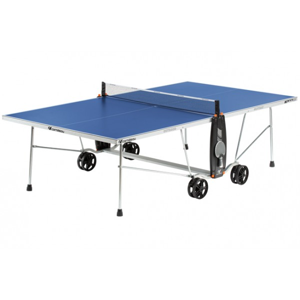 Cornilleau Sport 100S Crossover Outdoor Table Tennis Table in Blue