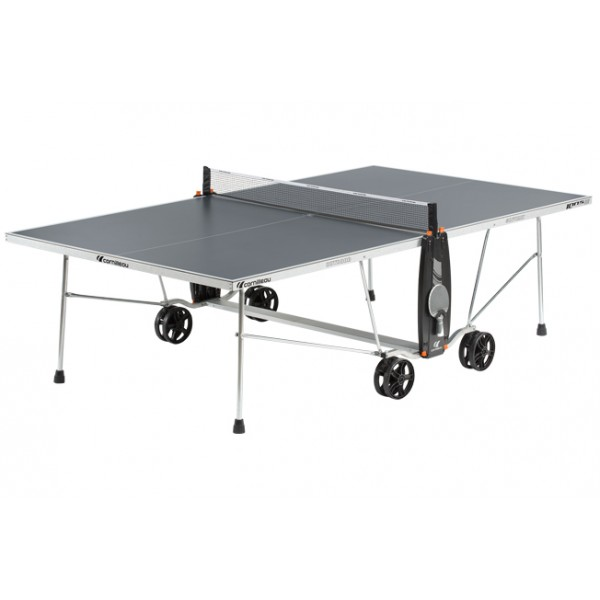Cornilleau Sport 100S Crossover Outdoor Table Tennis Table in Grey