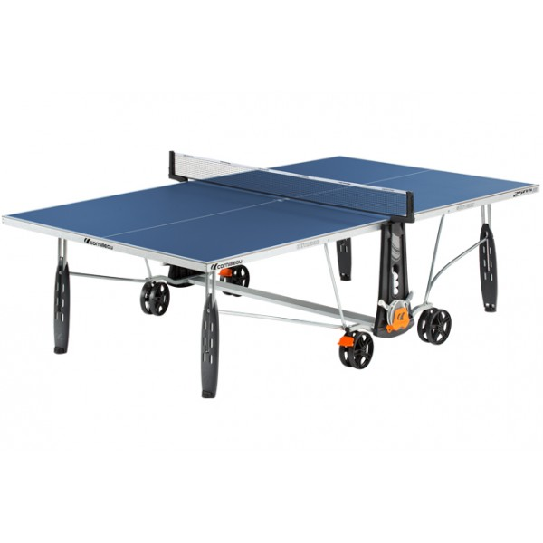 Cornilleau Sport 250S Crossover Outdoor Table Tennis Table in Blue