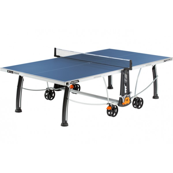 Cornilleau Sport 300S Crossover Outdoor Table Tennis Table in Blue