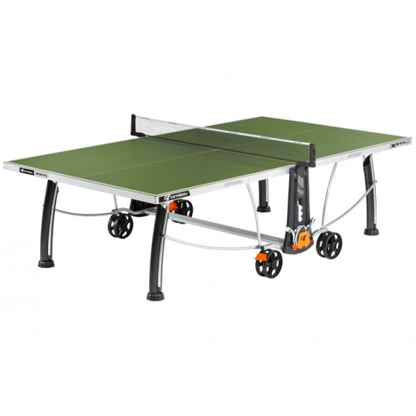 Cornilleau Sport 300S Crossover Outdoor Table Tennis Table in Green
