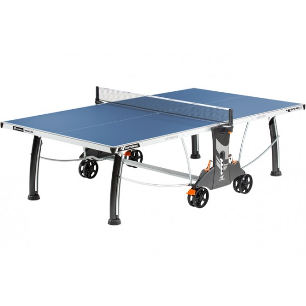 Cornilleau Performance 400 Crossover Outdoor Table Tennis Table in Blue