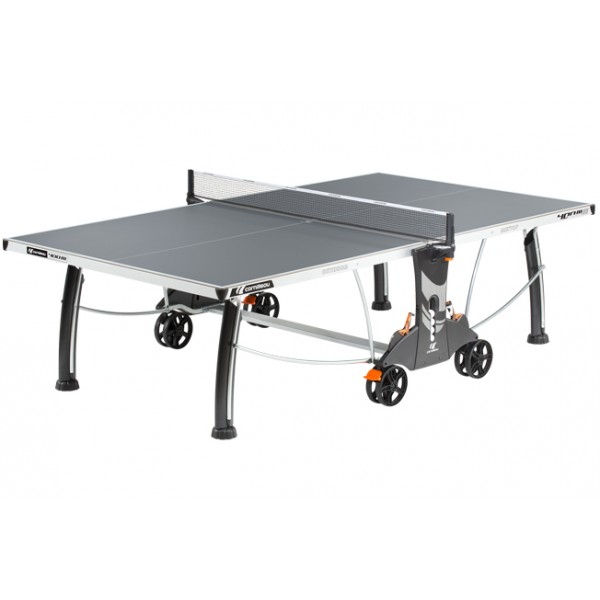 Cornilleau Performance 400 Crossover Outdoor Table Tennis Table in Grey
