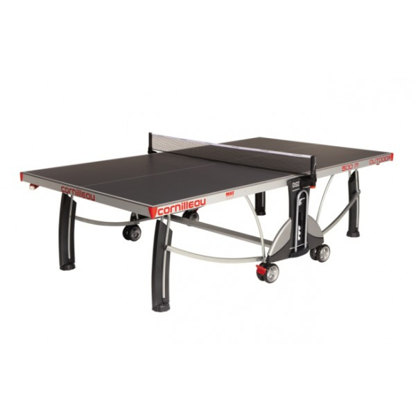 Cornilleau Performance 500 Outdoor Rollaway Table Tennis Table in Grey