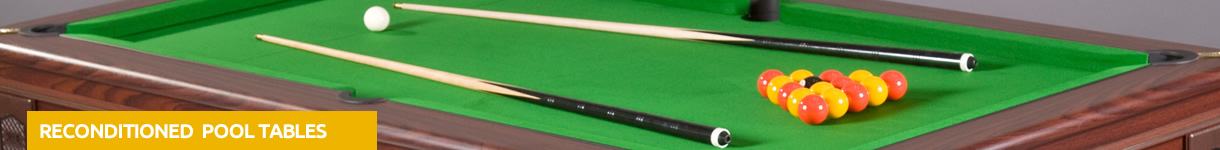Reconditioned pool tables for sale
