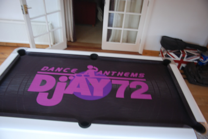 Dance Anthems DJ 72 Custom Design Cloth