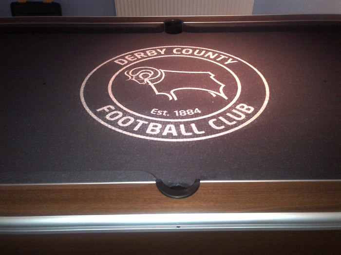 Derby County FC Custom Design Pool Table Cloth