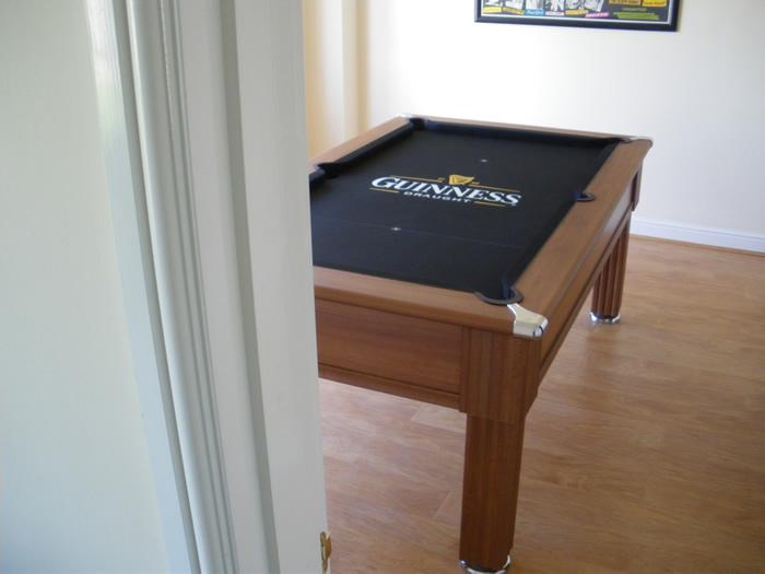 Guinness Custom Design Pool Table Cloth IQ - Guinness pool table