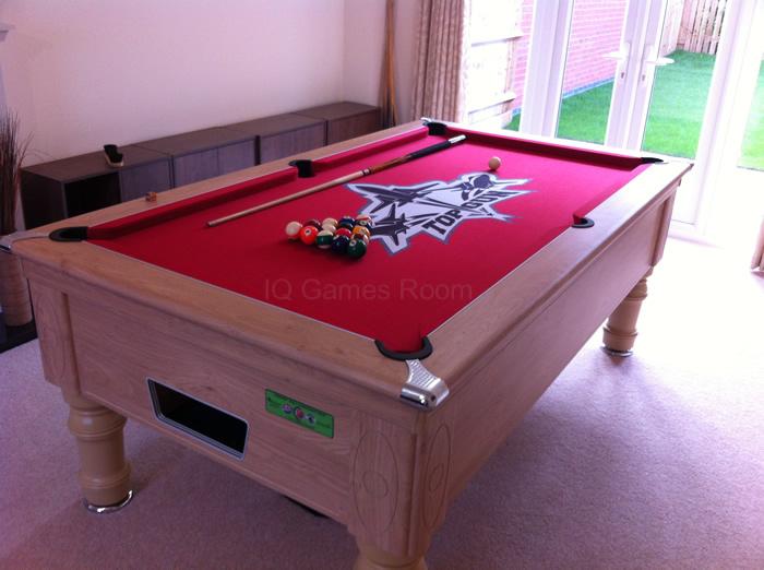 Top Gun Custom Design Pool Table Cloth