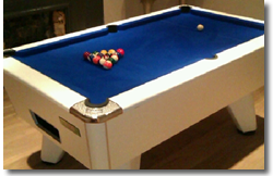 Bairstow Pool Table Installation