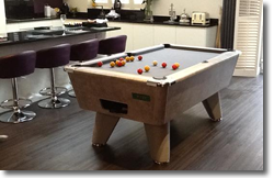6ft Freeplay Winner in Italian Grey Laminate with grey cloth
