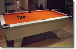 Hibbert Winner  Pool Table Installation