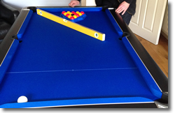 Horton Winner  Pool Table Installation