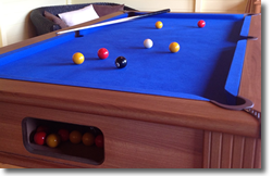Park Pool Table Installation