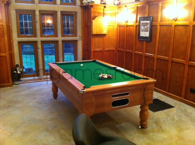 Installation of a 7ft Marseille Freeplay Kit Pool Table