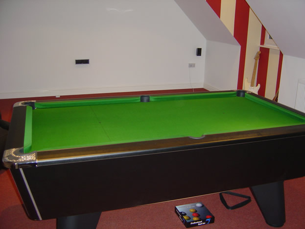 Self Build Winner Pool Table