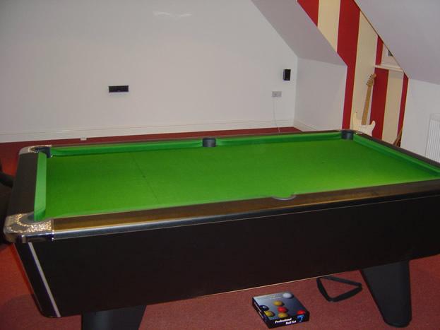 Self Build Winner Pool Table